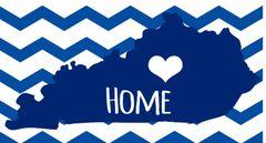 Kentucky Home License Plate