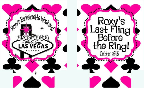 Vegas Hot Pink Party Huggers