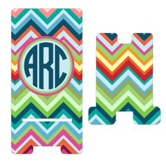Bright Chevron Cell Phone Stand