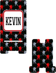 Hockey Personalized Cell Phone Stand.