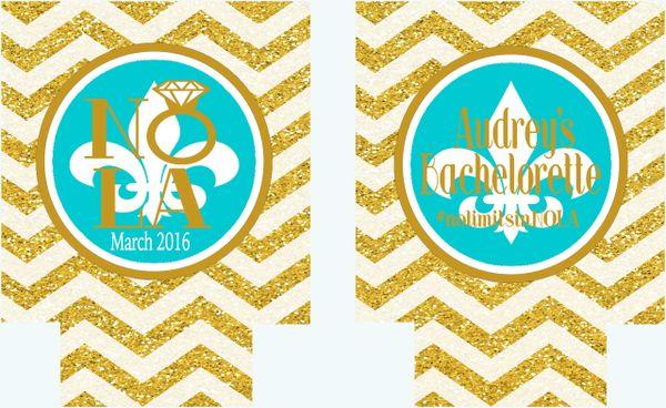 """New Orleans Gold """"Glitter"""" Huggers"""
