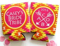 Bride Tribe Quilt Tribal Print Bachelorette Huggers