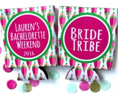 Bride Tribe Tribal Print Birthday or Bachelorette Huggers