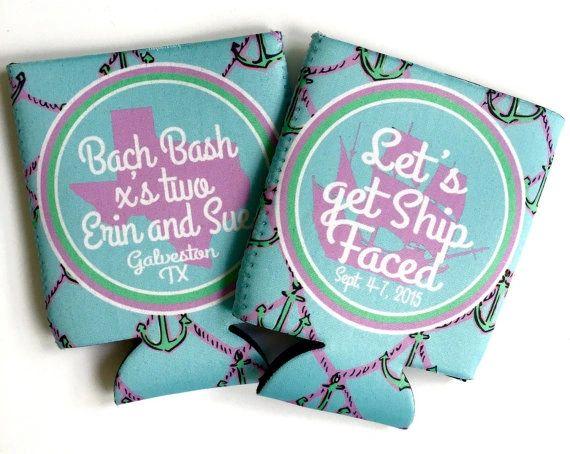 Anchor Bachelorette or Birthday huggers