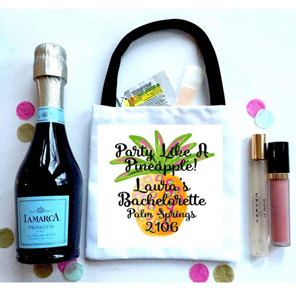 Pineapple Favor Bag