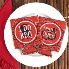 I DO BBQ Bandana Huggers
