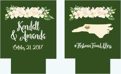 Floral Wedding Huggers