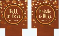 Fall Leaves Party Coozies