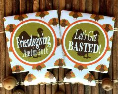 Thanksgiving Party Coozies