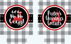Christmas Gingham Party Huggers