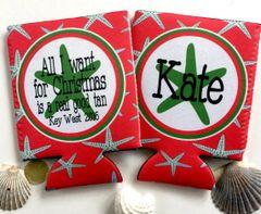 Christmas Starfish Party Huggers