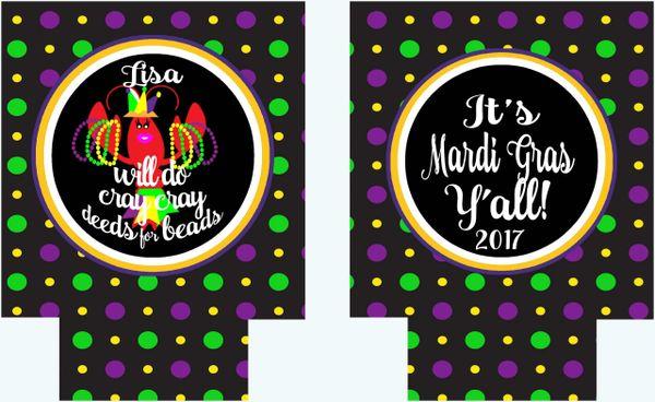 New Orleans Mardi Gras Huggers