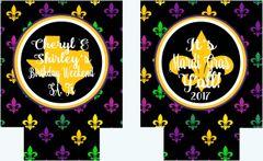 New Orleans Fleur de Lis Huggers