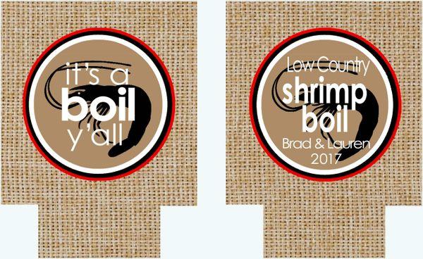 Shrimp Boil Party Huggers