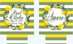 Lemon Wreath Party Huggers