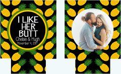 Pineapple Wedding Party Huggers
