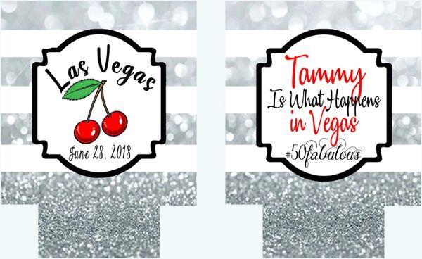 100 Vegas Party Huggers