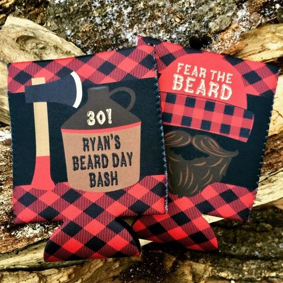 Plaid Beard Party Huggers