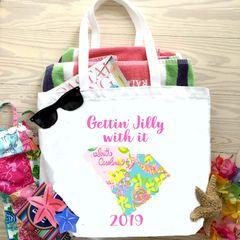 12 South Carolina Beach Tote bags and Matching Sunglass Straps!