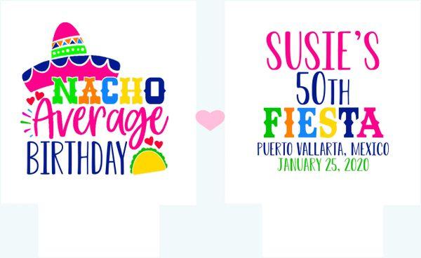 Nacho Average Fiesta Party Huggers
