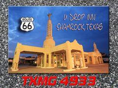 Route 66 fridge magnet featuring Mr. D's in Kingman, AZ