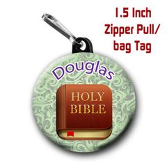 Personalized Holy Bible emoji on your choice of items with name CH543