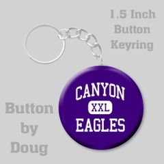 Keyring with Personalized School Spirit Graphics #CH393KR