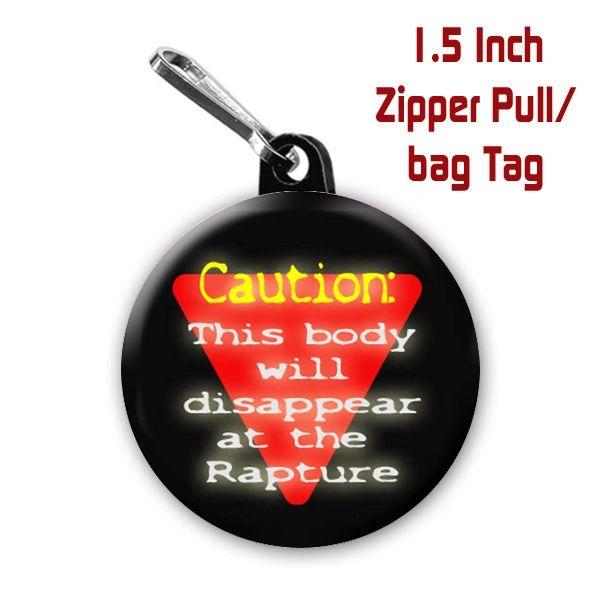 Inspirational rapture button CH128