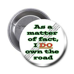 Humurous quote on choice of pin or magnet CH482