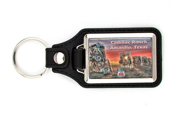 Route 66 Cadillac Ranch Key FOB