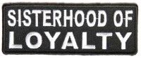 Patch - Sisterhood of loyalty