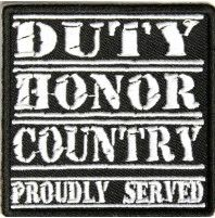 Patch - Duty, Honor,Country