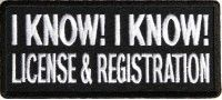 Patch - I Know I Know License and Registration