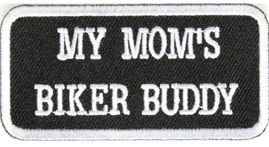 Patch - My mom's biker buddy
