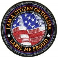 Patch - I am a citizen of the United States circle