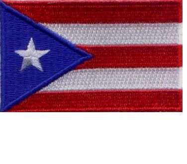 Patch - Puerto Rico flag