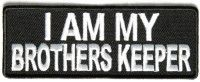 Patch - I am my brothers keeper black and white