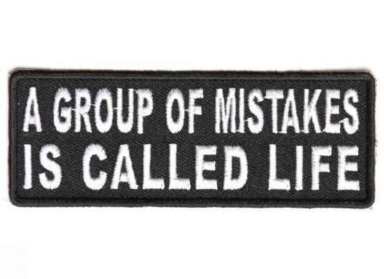 Patch - A group of mistakes