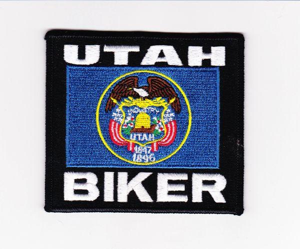Patch - Utah biker flag