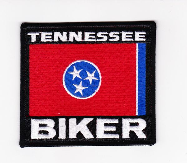 Patch - Tennessee biker flag