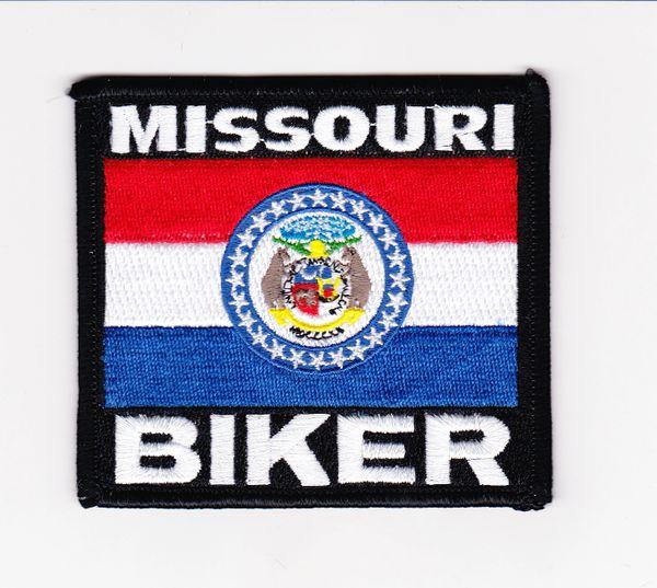 Patch - Missouri biker flag