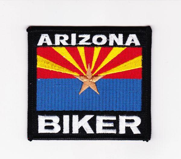 Patch - Arizona biker flag