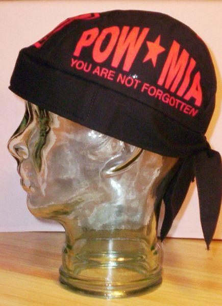 Headwrap - Red POW-MIA