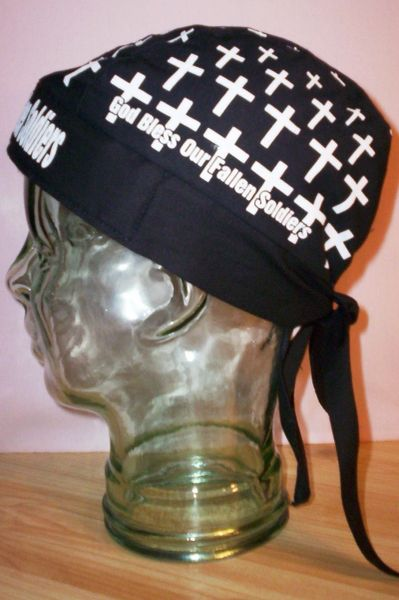Headwrap - God Bless Our Fallen Soldiers