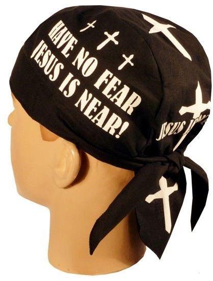 Headwrap - Have no fear