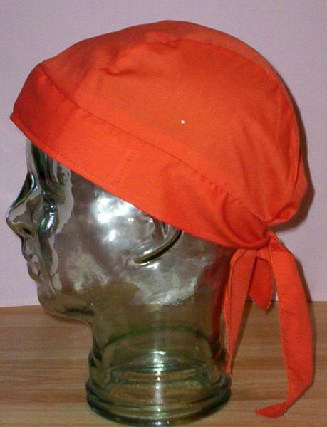 Headwrap - solid safety orange