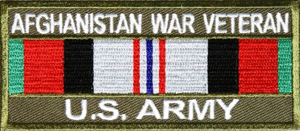 Patch - Afghanistan War Veteran US Army