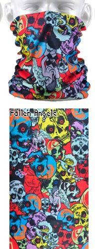 Tube mask - evil skulls