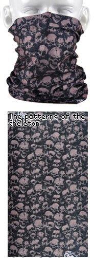 Tube mask - skulls, skulls, skulls