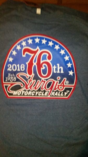 2016 Sturgis T shirt HL16005XL
